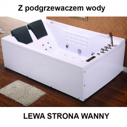 Wanna SPA z hydromasażem Fenix 606H 180x120 Lewa