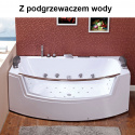 Wanna SPA z hydromasażem Suprema 664H 185x110