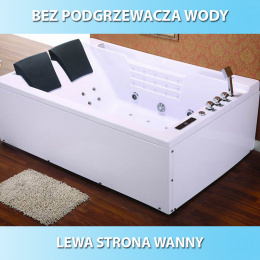 Wanna SPA z hydromasażem Fenix 606 180x120 Lewa