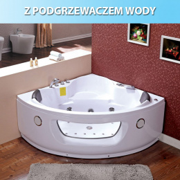 Wanna SPA z hydromasażem Flores 601H 140×140
