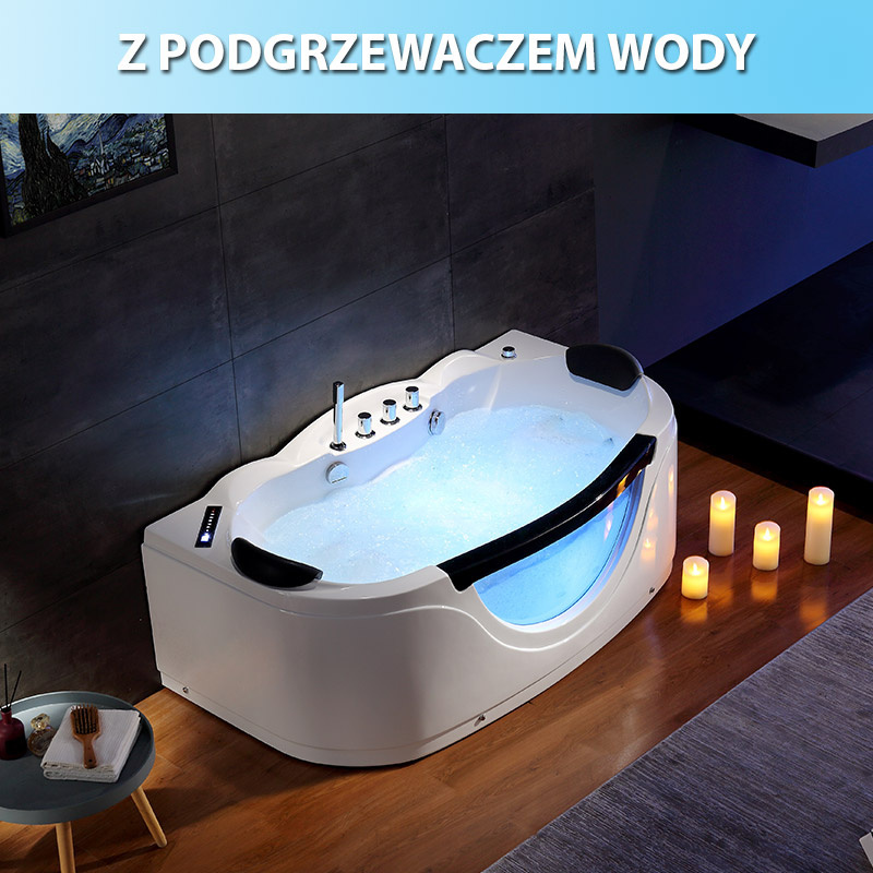 Wanna SPA z hydromasażem Parma 924 160x88