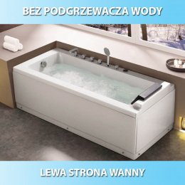 Wanna SPA z hydromasażem Alpina 883 Lewa 140x75